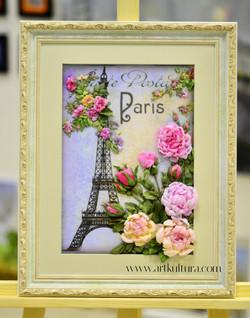 Вышивка лентами. Париж