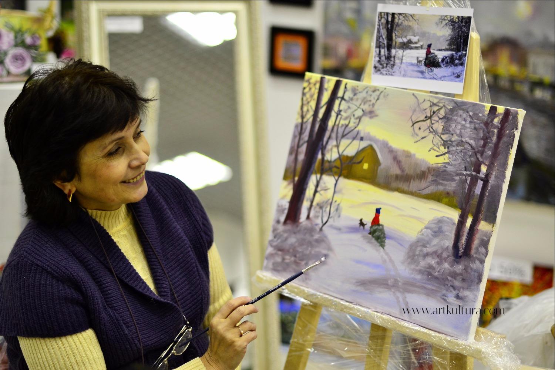 Галина написала свою первую работу на нашем мастер-классе