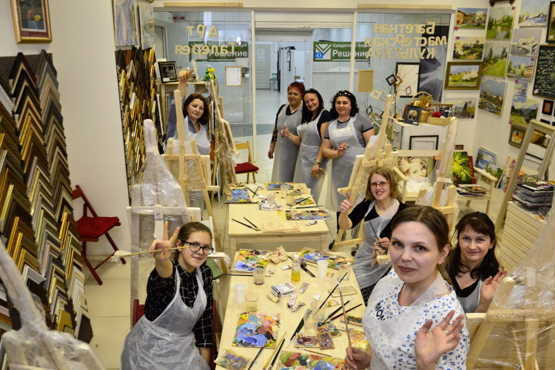 Мастер класс по живописи в Екатеринбурге