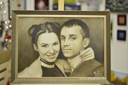 Оформление портрета в багет