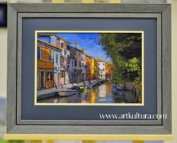 Вышивка крестиком. Венеция
