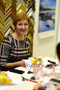 Участница мастер-класса Ирина