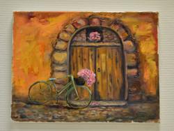 Мятный велосипед