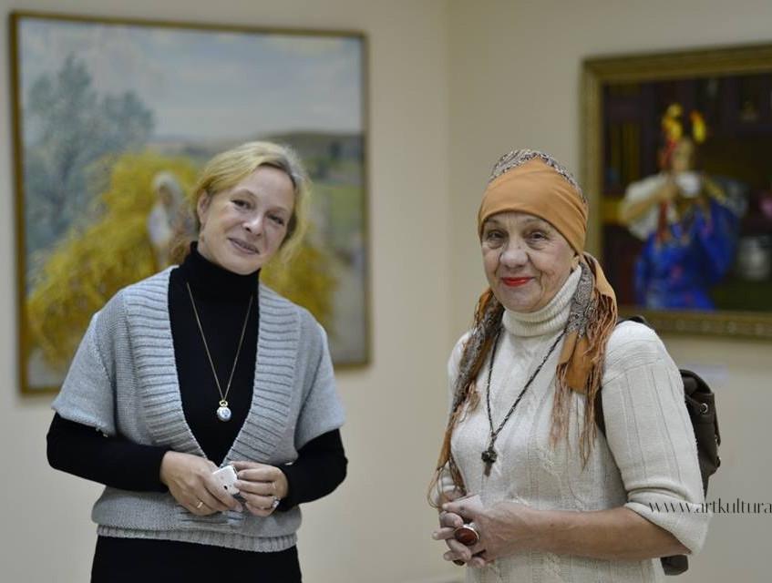 Ольга Алиева и Вианора Вишня
