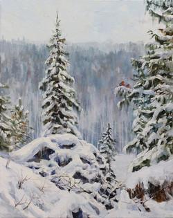 Рождество на Чусовой. Близ Каменки
