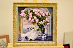 Розы и голуби_2