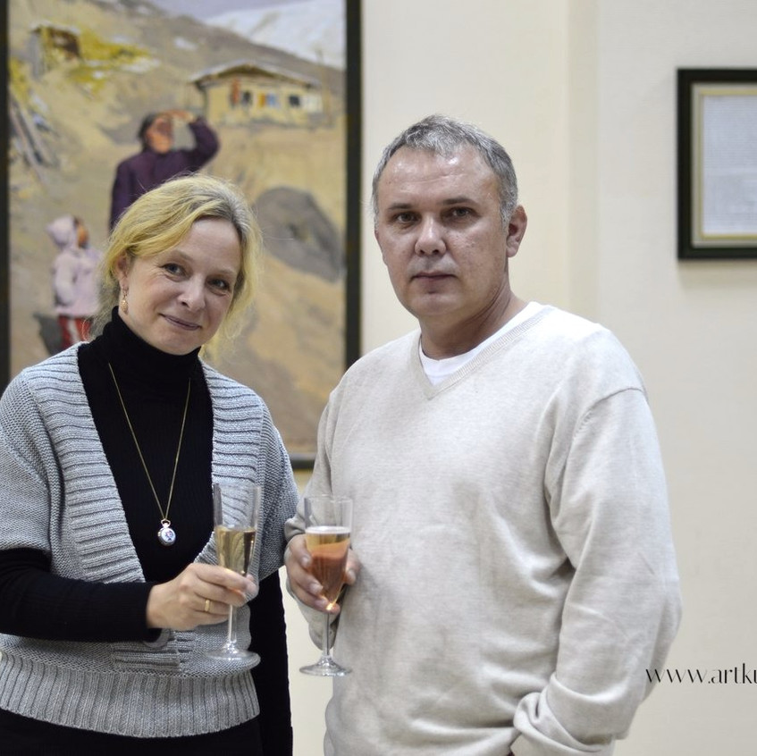 Ольга Алиева и Дмитрий Васильев