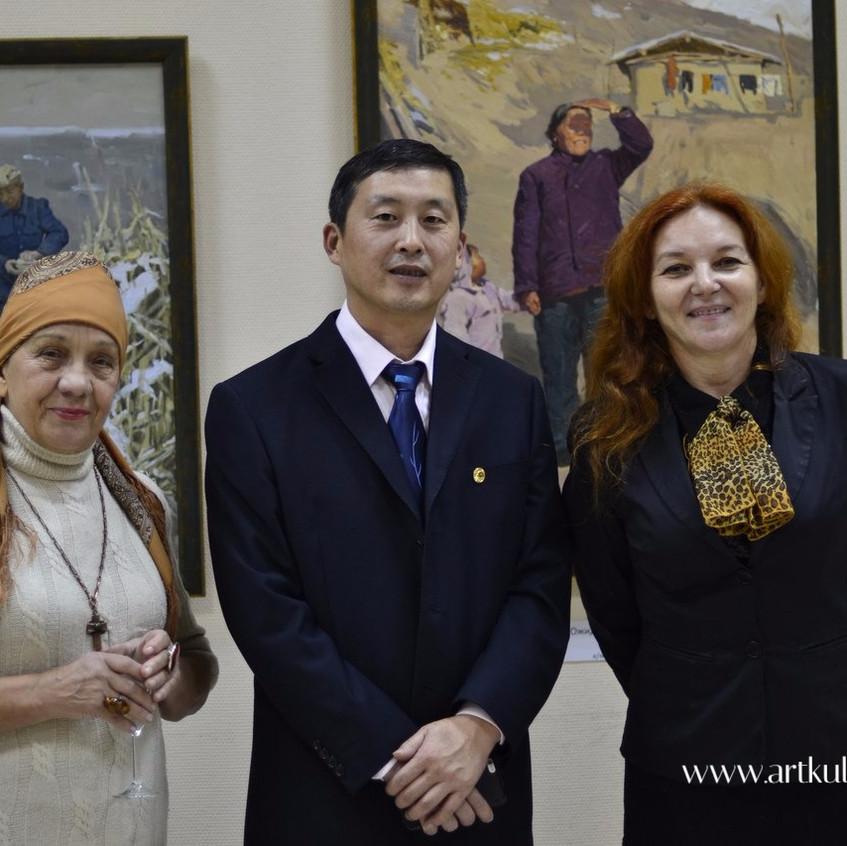 Дорогие гости на выставке _Русский реализм. Традиции живописи_