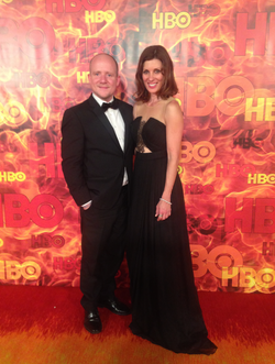 Attending HBO Emmy's gala, LA