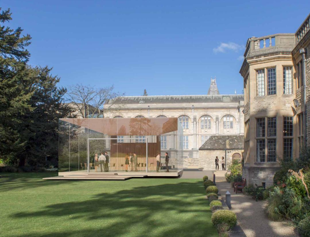 Milestone Rhodes House renovation