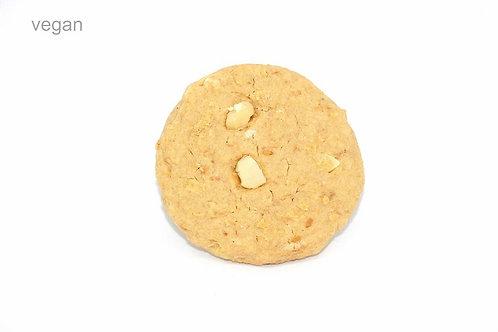 The Milky Vegan ( White choc chip + Macadamia)