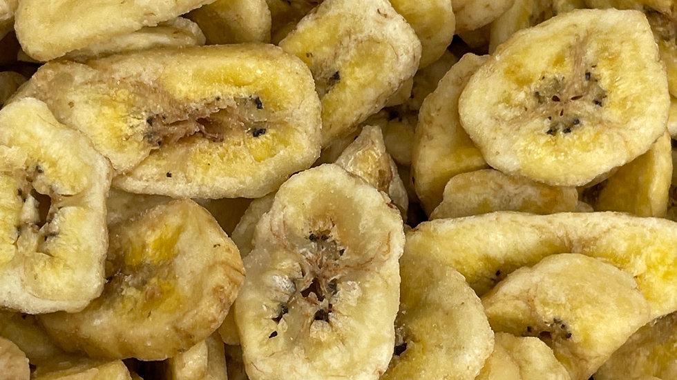 Banane chips au miel bio