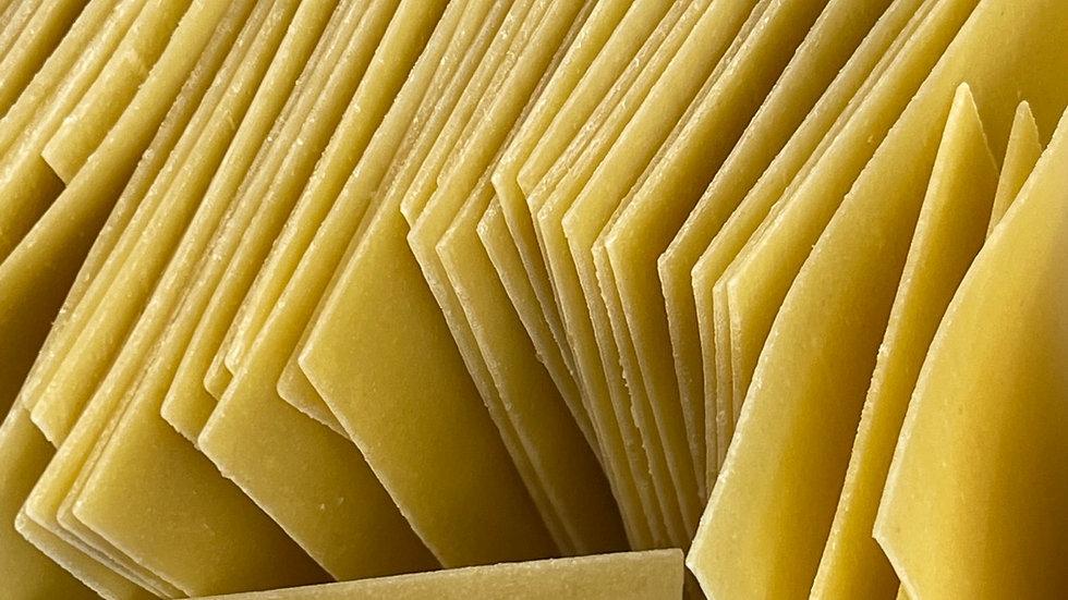 Pâte à lasagne blanche bio