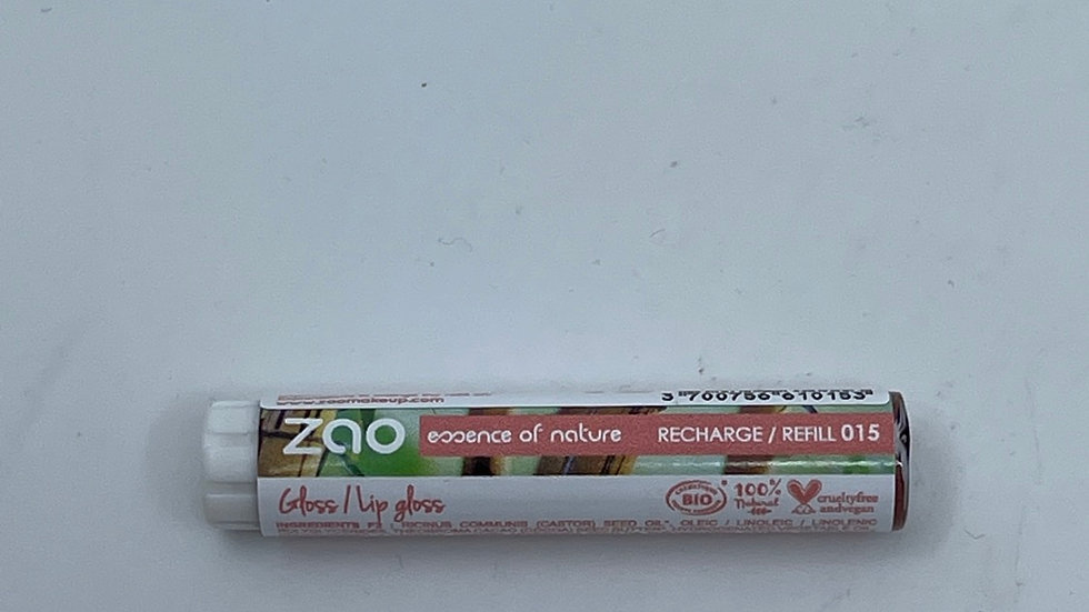 Recharge gloss 015 glam brown ZAO