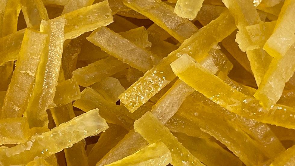 Ecorce citron confite