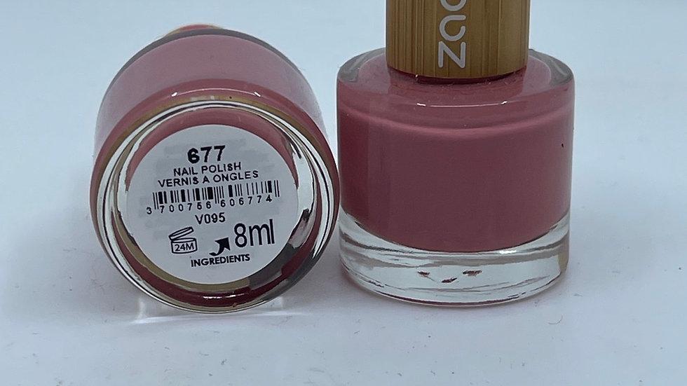 Vernis à ongles 677 la vie en rose ZAO
