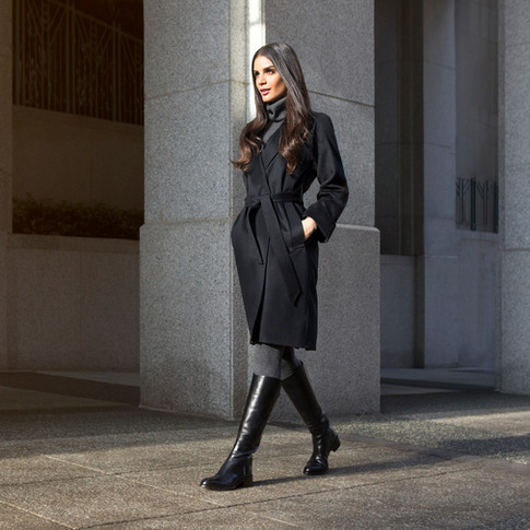 WINTER, 2018 BLACK GOAT CASHMERE PHOTOGRAPHY: JAMIE MANN HAIR AND MAKEUP: KSENIA