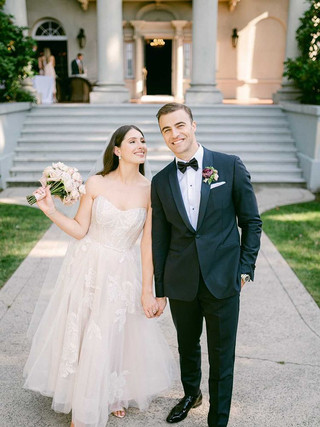 HARRIET & JOE, 2021  PHOTOGRAPHY: BLUSH WEDDING PHOTOGRAPHY MAKEUP: KSENIA