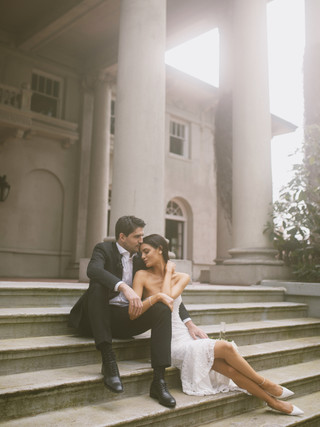 MIKAYLA & BOYD, 2021  PHOTOGRAPHY: LIZ ROSA HAIR & MAKEUP: KSENIA