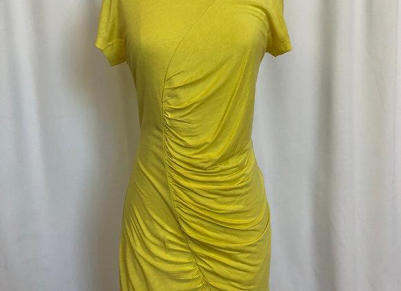 Diane Von Furstenberg Yellow T-Shirt Dress