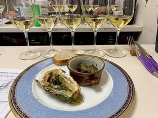 ブルゴーニュシャルドネ, escargots a la Bourguignonne, かきのシャンパーニュ