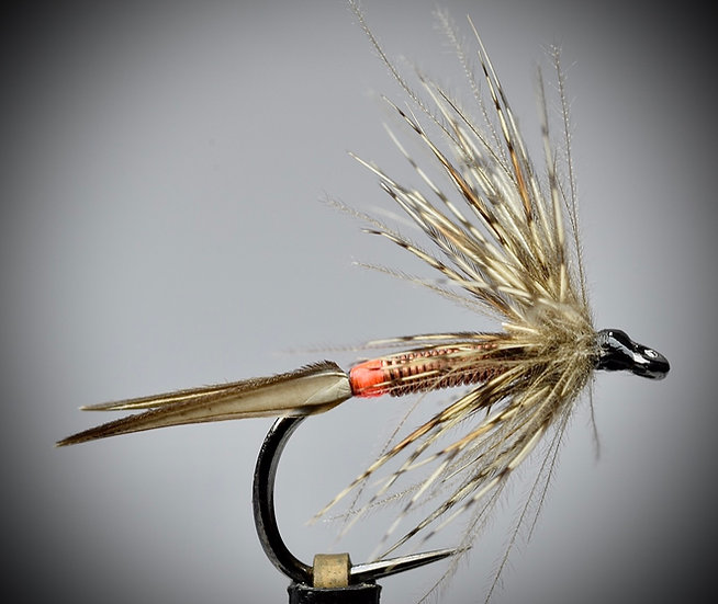 Hot spot wire body soft hackle