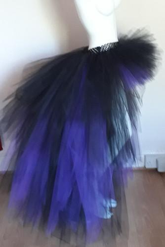 32e2c1024 Purple Haze High Low Layered Adult Tutu