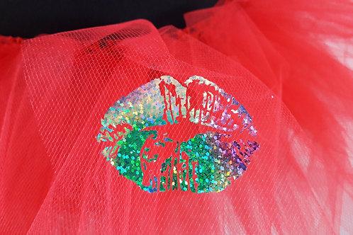 Hot Kisses Adult Red Tutu