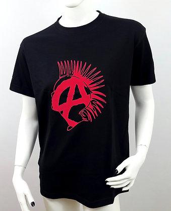Punk Anarchy Black Unisex T-Shirt