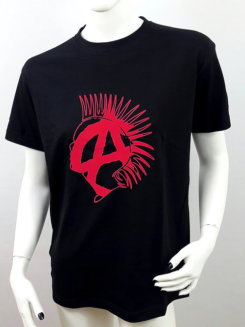 Punk Anarchy Black Unisex T-Shirt