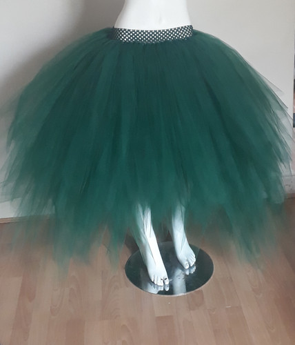 c529567b1 Woodland Forest Green Low High Layered Tutu,Perfect for Weddings, Festivals