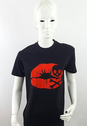Kiss of Death Black Unisex T-Shirt XS S M L XL 2XL 3XL 4XL 5XL