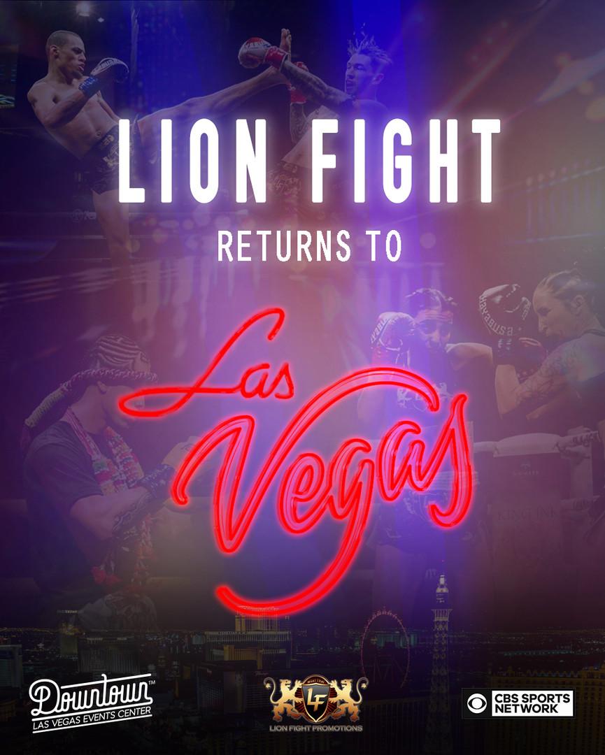 LION FIGHT 53 ANNOUNCEMENT