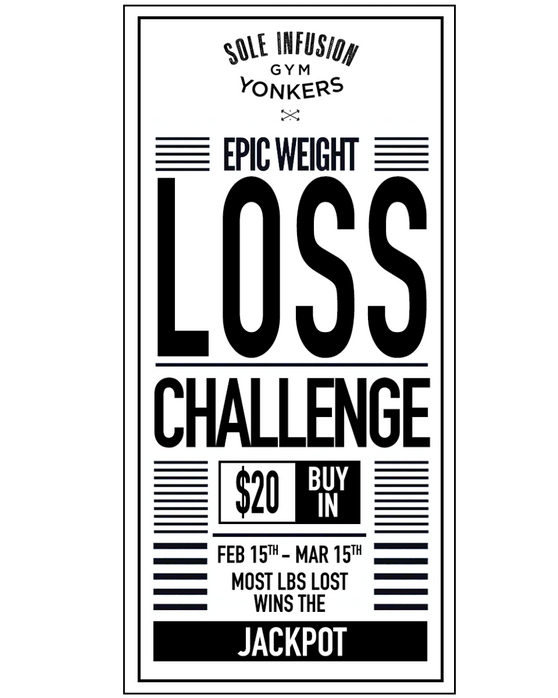 SOLE INFUSION GYM CHALLENGE