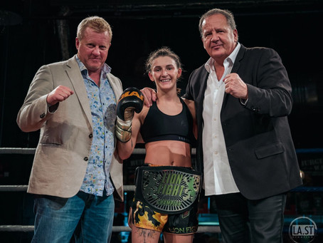 CATCHING UP WITH WORLD SUPER FLYWEIGHT CHAMP AMY PIRNIE