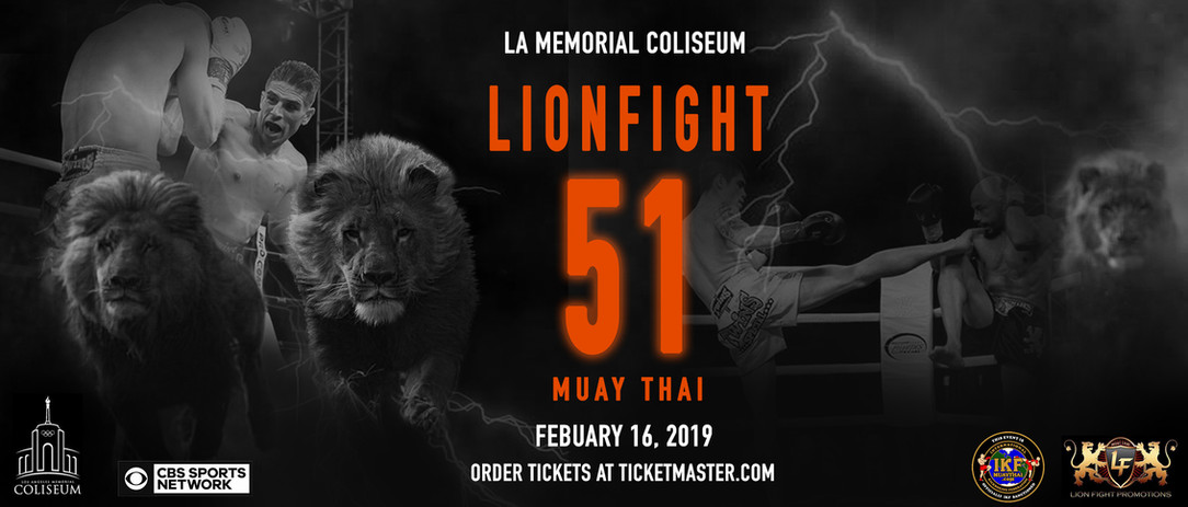 LION FIGHT 51 BILLBOARD