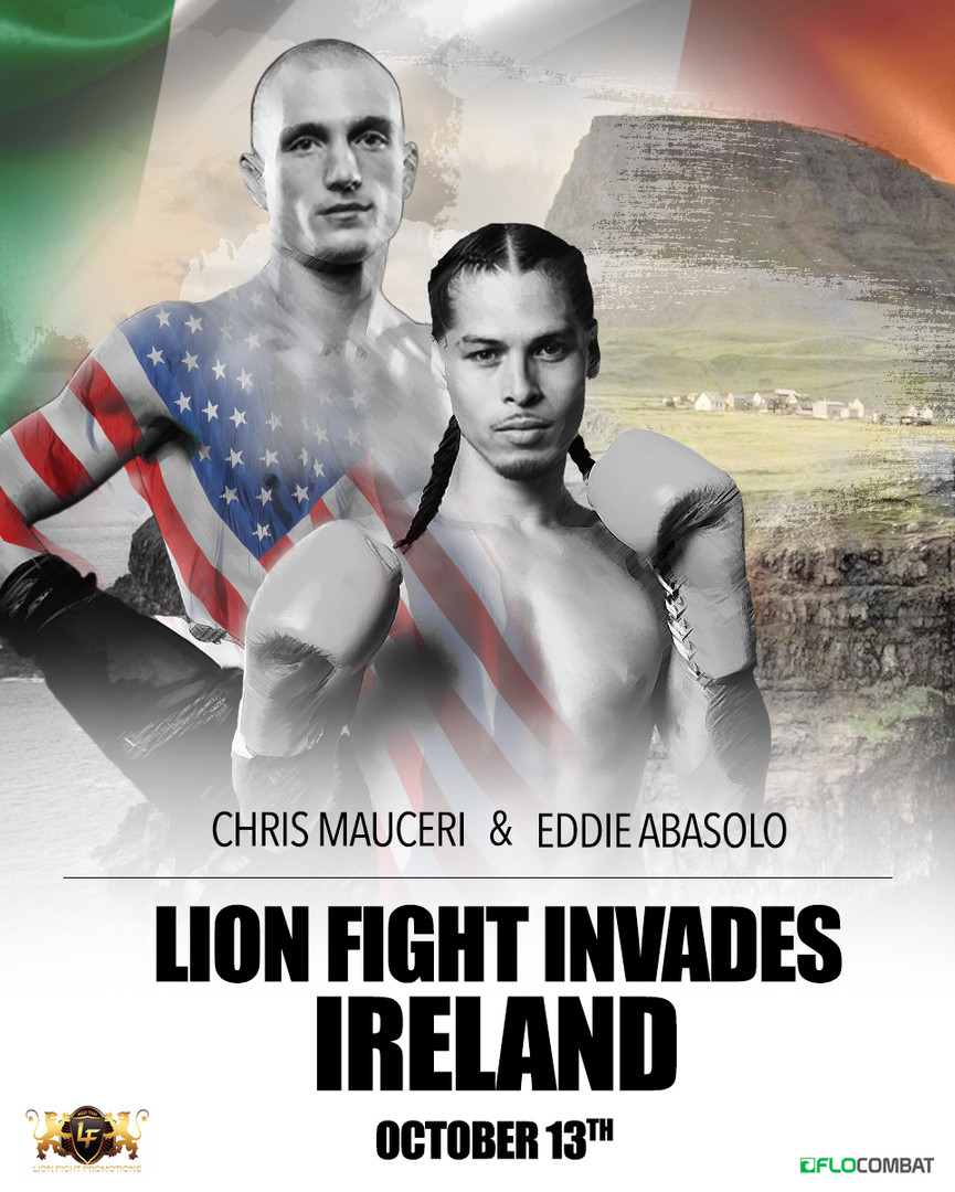 LION FIGHT POSTER