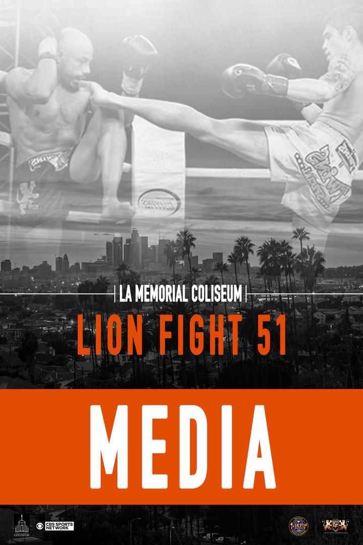 LION FIGHT 51 MEDIA PASS