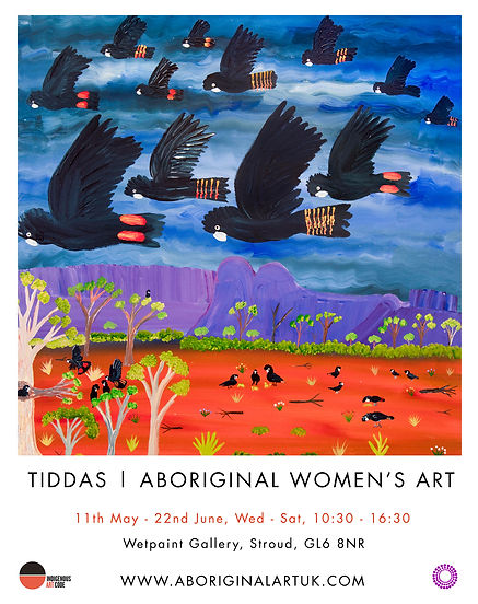 Tiddas exhibition poster