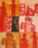 Aboriginal Artist Constance Robinja, Aboriginal Art UK