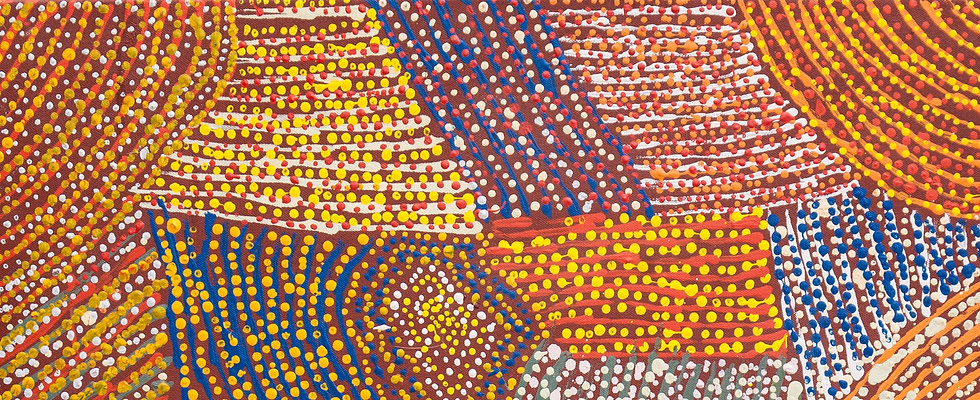 Tiger Palpatja Painting Nadia Phillips Aboriginal Art Painting