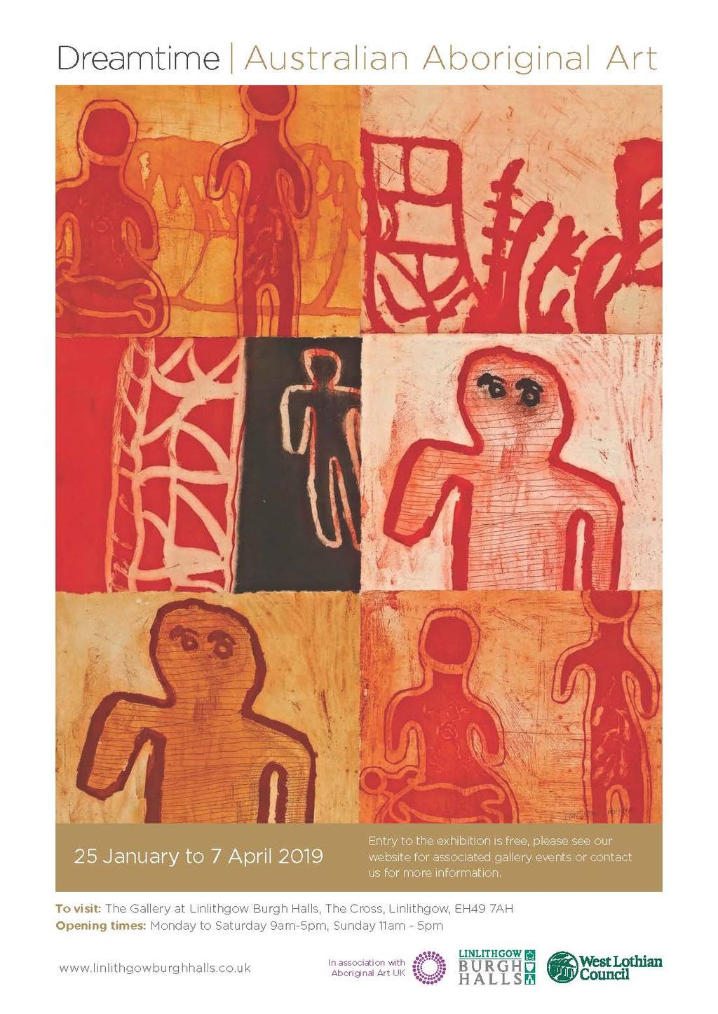 New Exhibition Dreamtime Australian Aboriginal Art