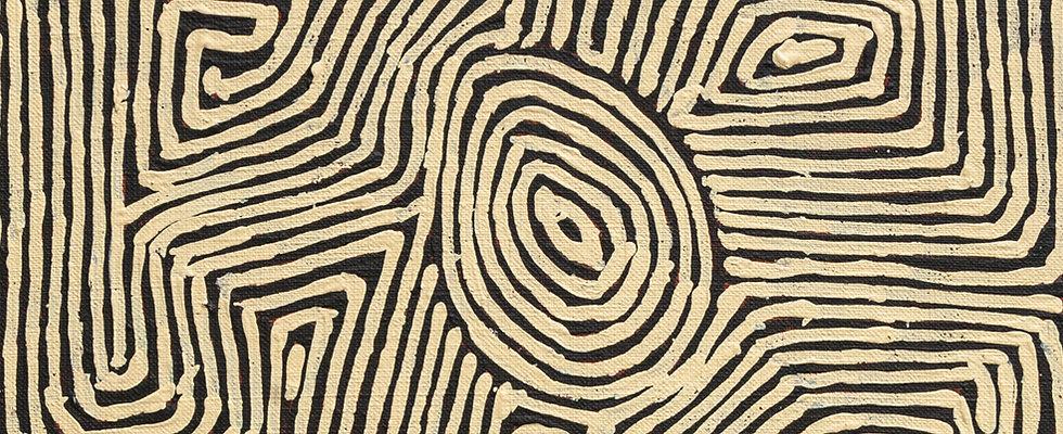 Tiger Palpatja Painting Nadia Phillips Aboriginal Art Painting