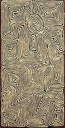 George Tjungurrayi painting, Aboriginal Art for sale in the UK