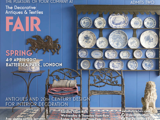 Join us at the Decorative Arts Fair | April 4th - 9th