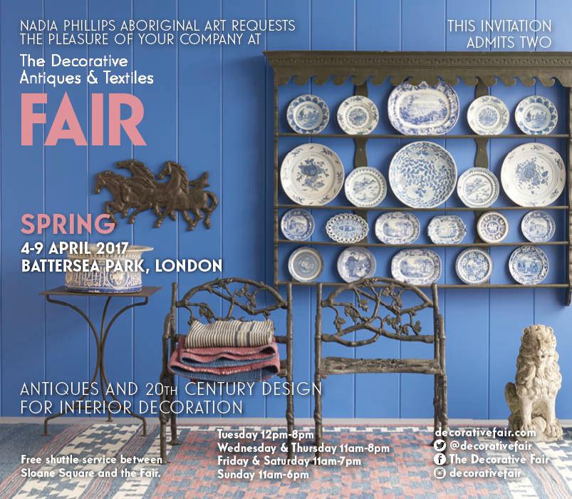 Join us at the Decorative Arts Fair