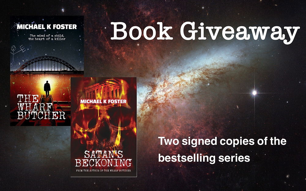'Signed' Book Giveaway by Michael K. Foster