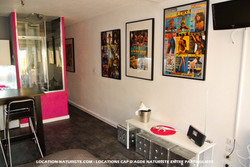 """Studio """"Pink-Exhib"""" location Cap Nat"""