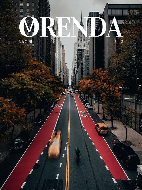 ORENDA Magazine Vol.3 Issue #1