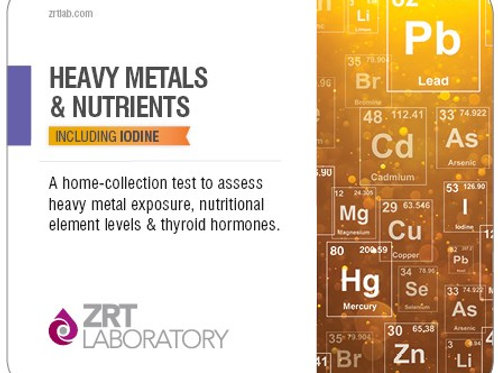 ZRT Heavy Metal and Nutrients Profile